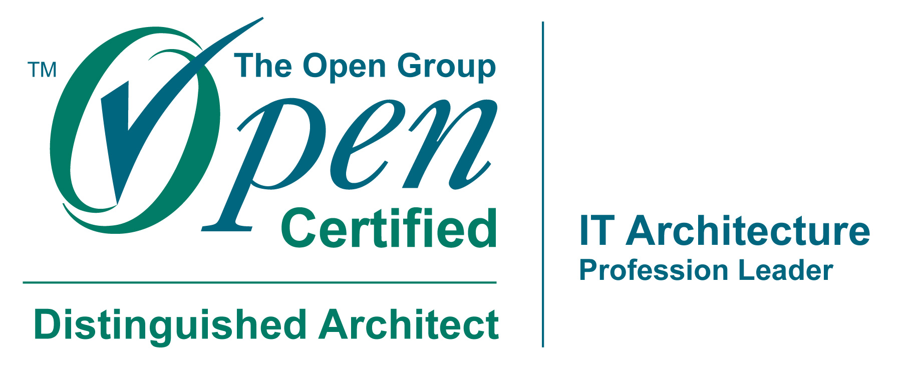 Awarded The Open Group Open Ca L3 Distinguished It Architect